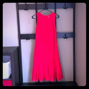 H&M drop waist lace dress
